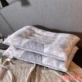 北極絨枕頭單人成人枕芯護頸枕頸椎磁石按摩枕學生wy 【快速出貨】 叮噹百貨