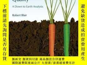 二手書博民逛書店Organic罕見Production and Food Quality: A Down to Earth Ana