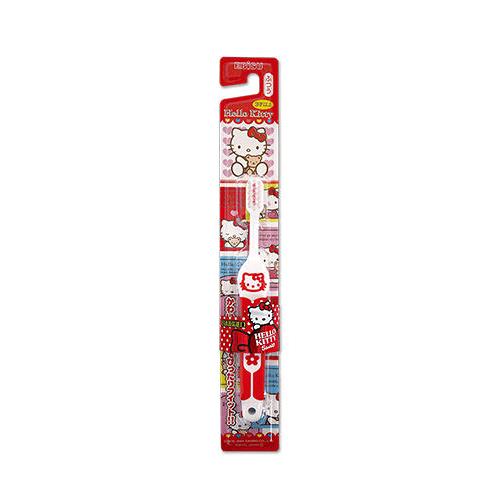 日本EBiSU Kitty 軟柄兒童牙刷 1入【BG Shop】