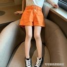女童短褲2020新款夏裝韓版洋氣外穿百搭兒童褲子女大童夏季熱褲潮 Cocoa