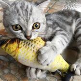 貓玩具貓薄荷仿真鯉魚草魚毛絨抱枕小貓咪逗貓棒寵物貓貓用品
