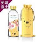 微笑維尼 好朋友玻璃瓶袋組 DSP-AG012(TW)【免運直出】