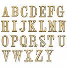DIY 圓弧燙金英文字標示牌 可貼 O ...