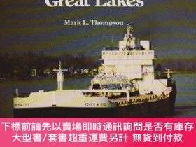 二手書博民逛書店Steamboats罕見and Sailors of the Great Lakes (Great Lakes B