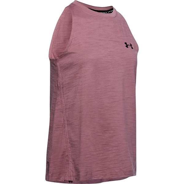 Under Armour UA Charged Cotton Adjustable 女裝 背心 側抽繩 透氣 棉質 訓練 運動 紫【運動世界】1351748-662