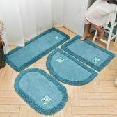 地墊 腳墊防滑墊家用吸水臥室地毯50*80