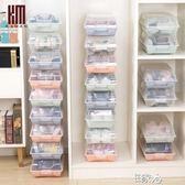 加厚大號鞋盒透明收納盒塑料鞋架 E家人