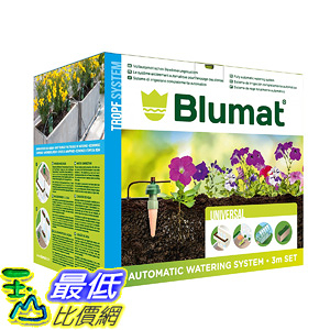 [106美國直購] Blumat Medium Box Kit - Automatic Irrigation for Up To 12 Plants
