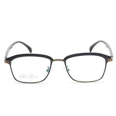 鏡框(方框)-新款時尚輕盈百搭男女平光眼鏡5色73oe41[巴黎精品]