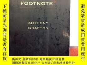 二手書博民逛書店The罕見Footnote: A Curious History