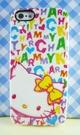 【震撼精品百貨】Hello Kitty 凱蒂貓~HELLO KITTY iPhone5手機軟殼-蠟畫(CY)