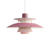 Louis Poulsen PH 5 Suspension Lamp in Matt Colour 保羅漢寧森 霧面色彩系列 四層次 吊燈