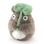 宮崎駿 龍貓 TOTORO 撐葉子造型手玉 S號娃娃 沙包玩偶 該該貝比日本精品 ☆