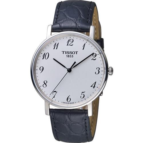 TISSOT 天梭 Everytime 經典雋永時尚錶 T1094101603200