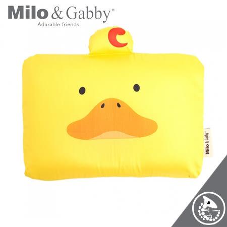 金寶貝 Milo & Gabby 動物好友 嬰兒枕 超柔軟 防蟎 天絲枕心+枕套組 DUKE小鴨