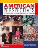 二手書博民逛書店《American Perspectives: Readings on Contemporary U.S. Culture》 R2Y ISBN:0201520753
