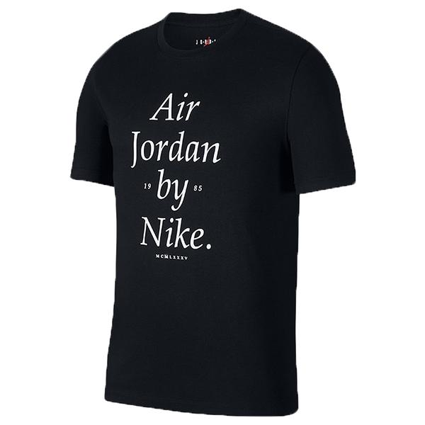 【現貨】Nike Air Jordan by Nike 男裝 短袖 休閒 純棉 喬丹 黑 【運動世界】AQ3761-010
