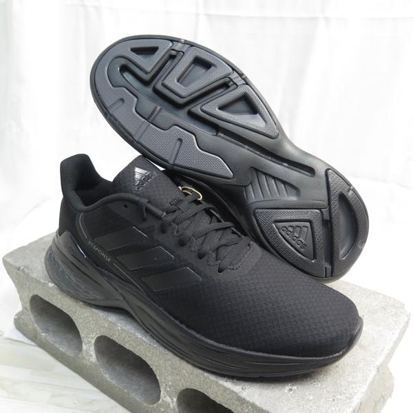 ADIDAS RESPONSE SR 男款 運動鞋 慢跑鞋 公司貨 FX3627 黑 大尺碼【iSport愛運動】