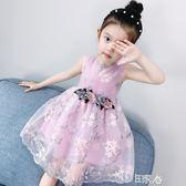 好康618 洋裝童裝女童夏裝連身裙蓬蓬紗裙子
