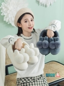 棉拖鞋 棉拖鞋女冬季家居包跟室內產后情侶毛絨月子可愛家用秋冬兒童棉鞋【快速出貨】