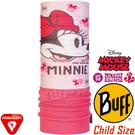 BUFF 121582_迪士尼授權-米老鼠 Child Polar兒童單面保暖頭巾 防風領巾/快乾圍巾/防寒帽/脖圍