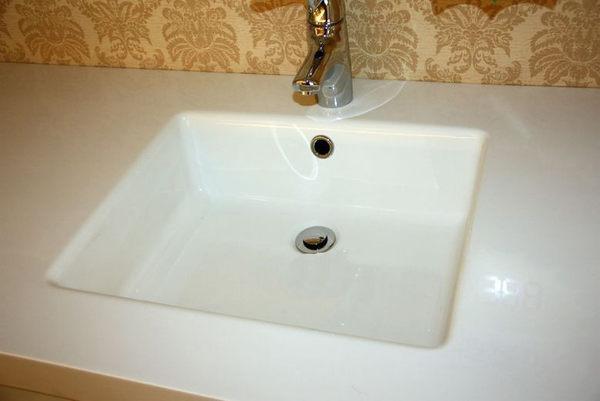 【麗室衛浴】 美國KOHLER NATURA系列 一體成型人造石檯面盆  K-15453T-0