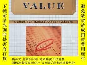 二手書博民逛書店Creating罕見shareholder value:a gu