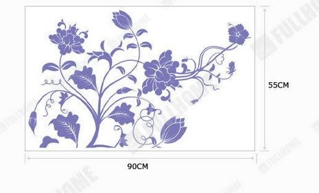 韓國牆貼窗帖|浪漫滿屋|可愛創意壁貼 -kor0019