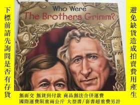 二手書博民逛書店Who罕見Were the Brothers Grimm?Y23