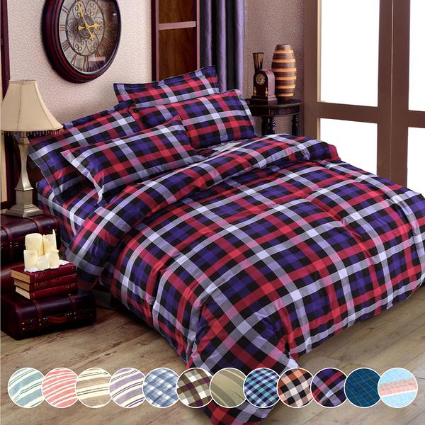 【VIXI】《Youth Culture》吸濕排汗單人床包兩用被三件組(多款任選)
