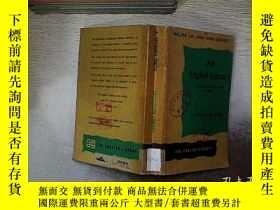 二手書博民逛書店AN罕見ENGLISH LIBRARY 英語圖書館Y261116