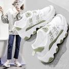 夏季老爹女鞋2020新款網鞋秋季百搭小白休閒運動網面透氣ins潮鞋【蘿莉新品】