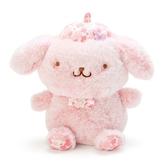 〔小禮堂〕布丁狗 絨毛玩偶娃娃《S.粉》玩具.擺飾.燦爛櫻花系列 4901610-20214
