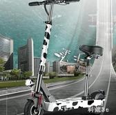 電動滑板車家用代步車折疊滑板踏板車成年哈雷電瓶車小海豚小型上班神器 PA5788『科炫3C』