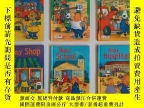 二手書博民逛書店Ladybird系列罕見Busy 共6本全Y247232 Lad