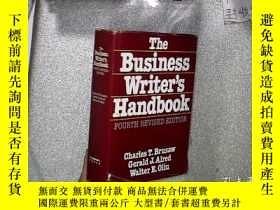 二手書博民逛書店THE罕見BUSINESS WRITER S HANDBOOK