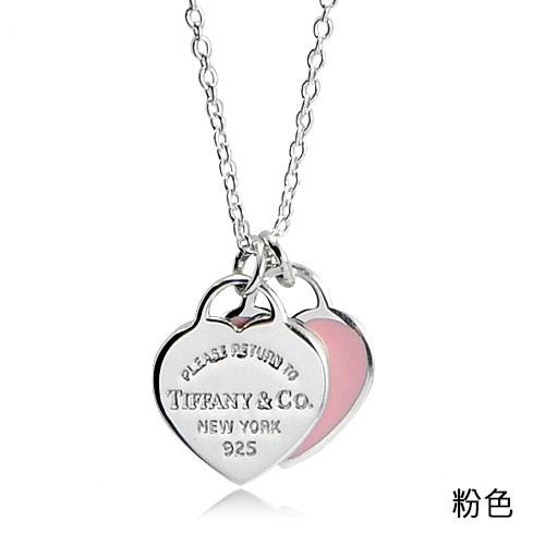 Tiffany&Co. 蒂芙尼 經典款925純銀項鍊(多款可選) 情人節 禮物 贈品牌提袋
