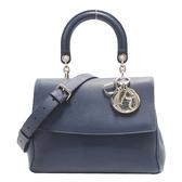Dior 迪奧 藍紫色牛皮手提肩背2way包 Dior Be dior 【BRAND OFF】