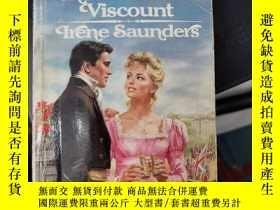 二手書博民逛書店the罕見invincible viscount irene saunders(A720)Y173412