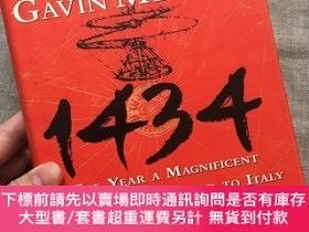 二手書博民逛書店1434:罕見The Year a Magnificent Chinese Fleet Sailed to Ita