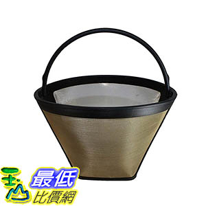 [106美國直購] Crucial Coffee Washable and Reusable Coffee Filter for the Ninja Coffee Bar