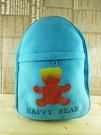 【震撼精品百貨】日本綜合熊_HAPPY BEAR~後背包『藍』