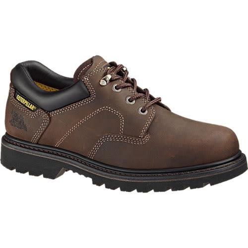 CAT  男款 RIDGEMONT STEEL TOE 橡膠底  耐磨抗濕滑  低筒鋼頭鞋 - 咖 708018