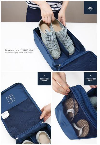 旅行收納鞋袋整理包可放3雙鞋