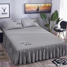 全棉床罩床裙式床套單件純棉席夢思防滑保護套1.5m1.8米床單床笠 樂活生活館