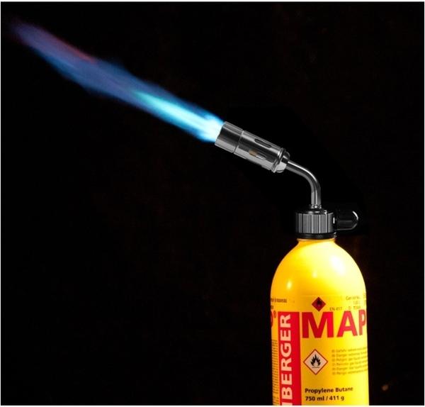 【All Splendid】露營生火用噴槍 兩種瓦斯罐皆可用 高山瓦斯罐 卡式瓦斯罐 (附卡式轉接頭) MP-02