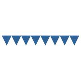 三角旗-點點寶石藍