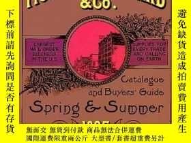 二手書博民逛書店Montgomery罕見Ward Catalogue Of 1895 (catalogue & Buyer s G