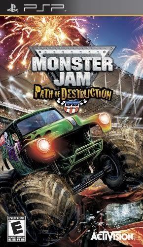PSP Monster Jam 3: Path of Destruction 衝鋒大車拼3:破壞路徑(美版代購)