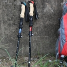 登山裝備戶外登山杖手杖徒步爬山裝備防身棍實木可折疊行山杖 小山好物